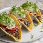 The Chef Tacos (V,GF)